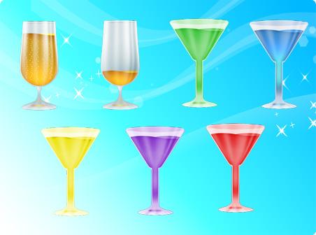 Иконки напитки