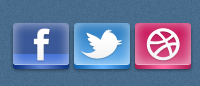 Иконки «Free Social»