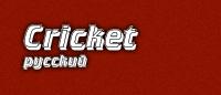 Шрифт «Cricket»