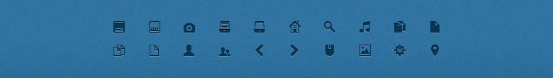 Иконки Mimi Glyphs 16x16 PNG