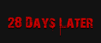 Шрифт «28 Days Later»