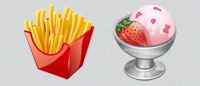 Набор «Real Vista Food Icons» PNG
