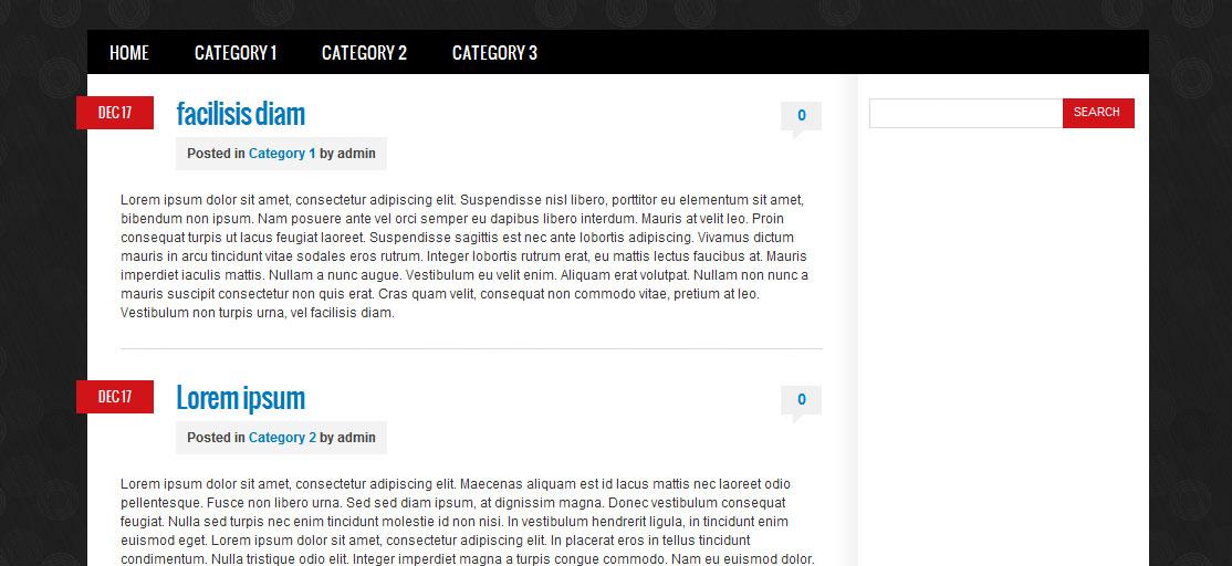 Тема для Wordpress «Mapa Polski»