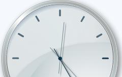 Часы для uCoz