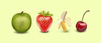 Набор иконок «Fruit icons» PNG, ICO