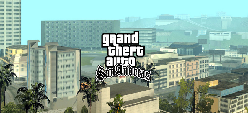 Шрифт San Andreas Old English