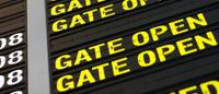 Эффект для текста  JQuery Airport