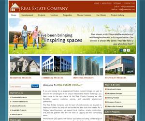 Шаблон Real Estate Drupal