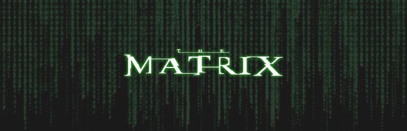 Шрифт Матрица