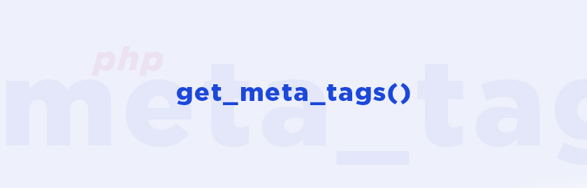 Чтение Title и Meta с другого сайта на PHP