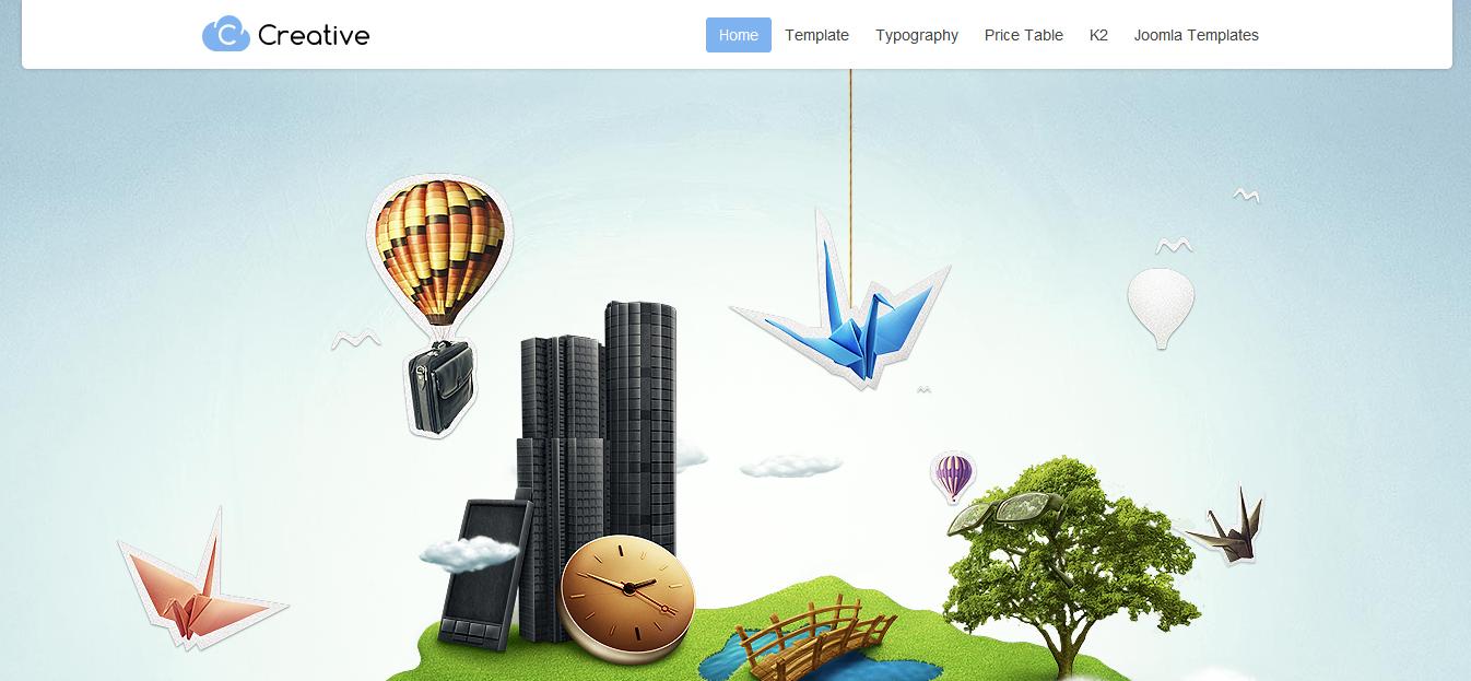 Шаблон GavickPro GK Creative Joomla