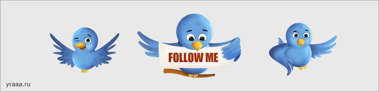 Иконки Twitter: Twitter Icon Set