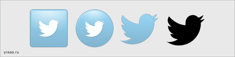 Иконки Twitter: New Twitter Icon