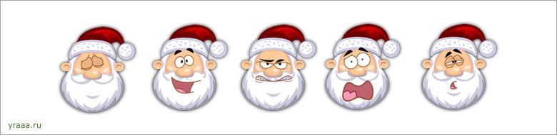 Иконки Дед Мороз