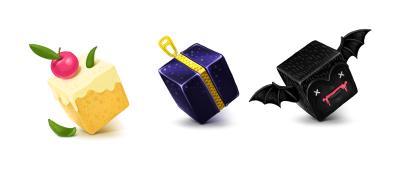 Набор иконок Cubes
