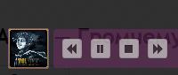 Настраиваемый аудио плеер v1.1