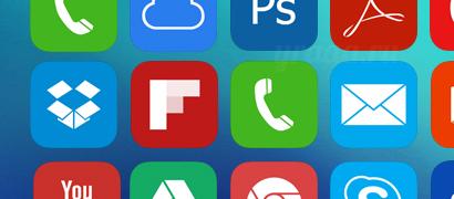 Иконки в стиле iOS7