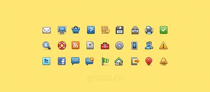 Набор иконок Web VirtualLNK 16x16
