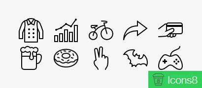 1700 иконок для iOS7 приложений