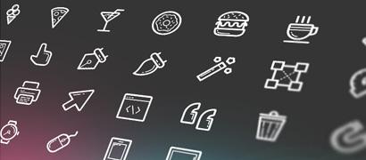 Иконки Helium. AI, EPS, SVG и шрифт