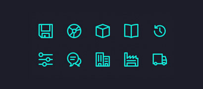 Micons – 231 иконка SVG и AI