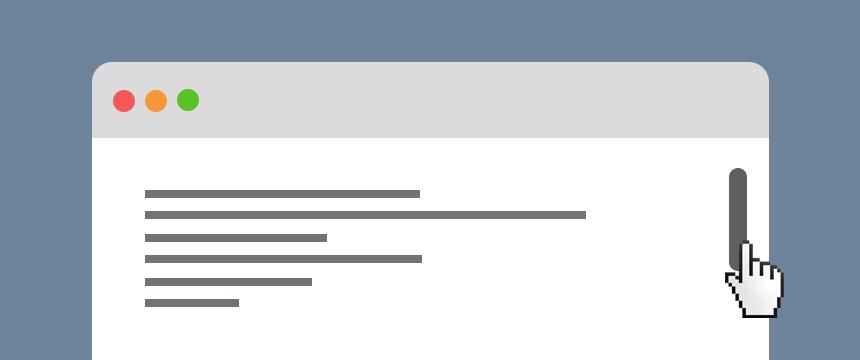Плавный скроллинг страницы для uCoz