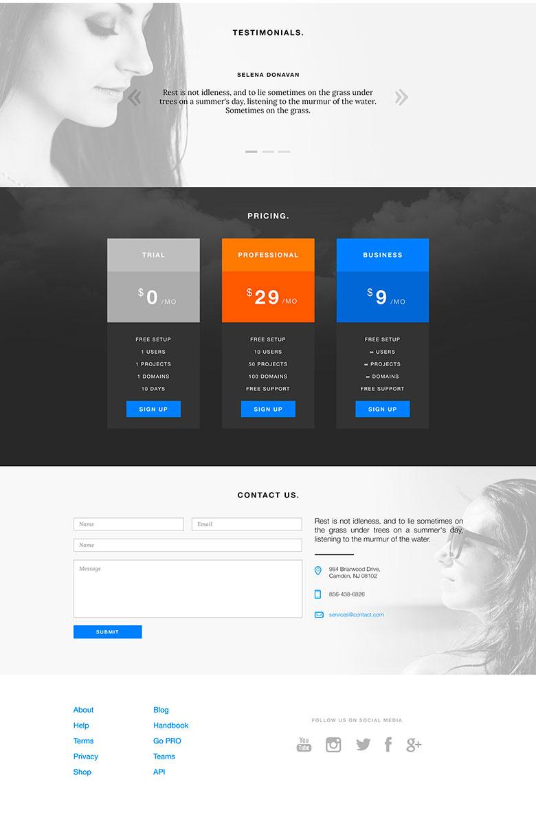 Создать сайт бесплатно шаблоны