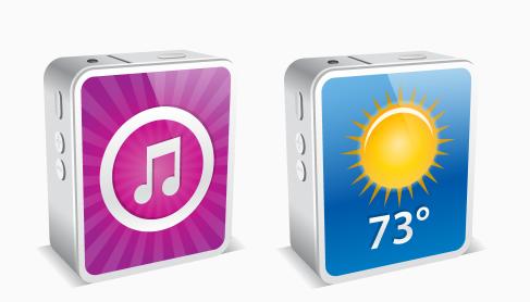 Иконки IPhone в 3D