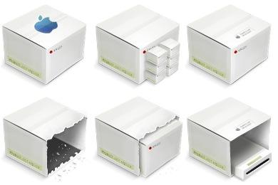 Иконки LCD коробки