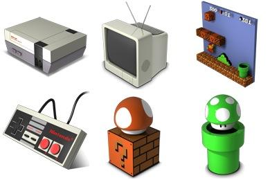 Иконки NES