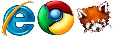 Прикольные иконки браузеров