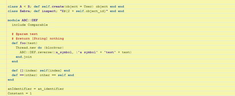 Подсветка синтаксиса в CODE
