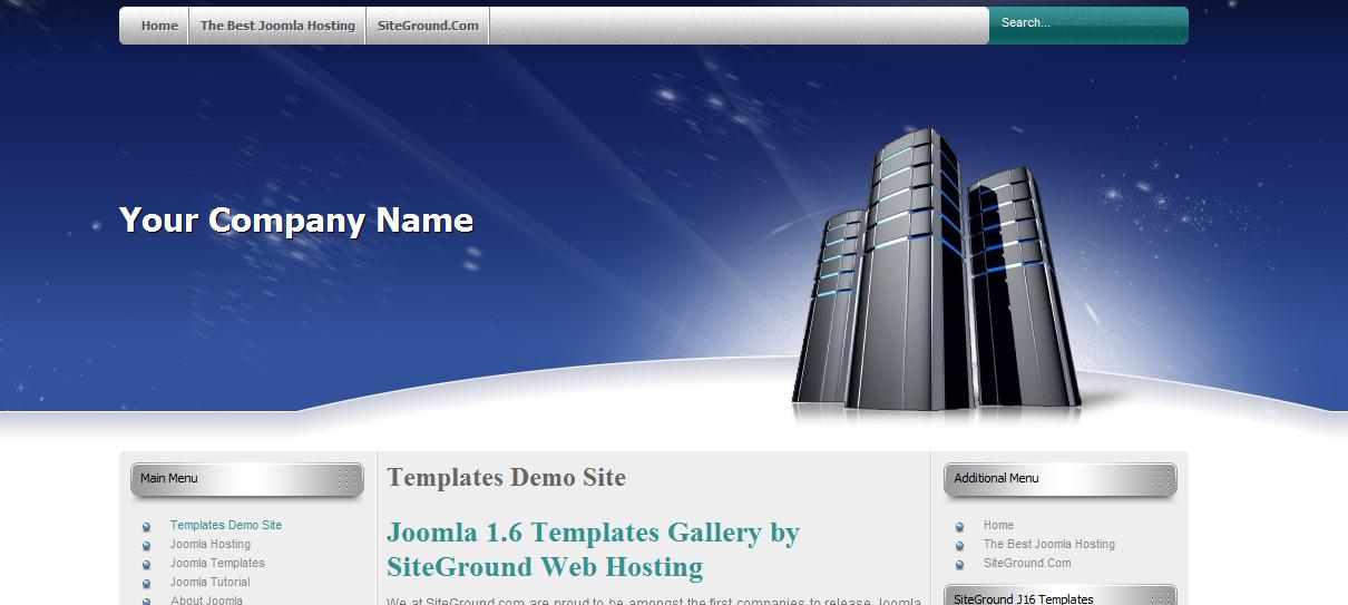 Шаблон для Joomla 1.6