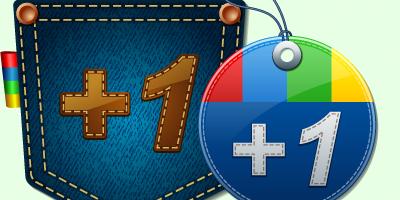 Иконки «Google +1»