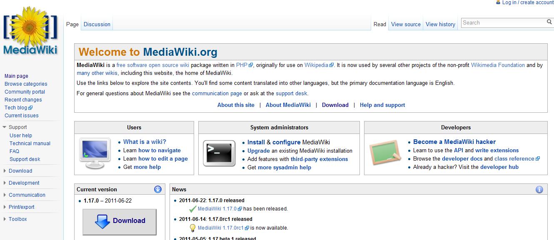 Создать копию Wikipedia. MediaWiki