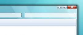 Окно в стиле Windows 7. Исходник PSD