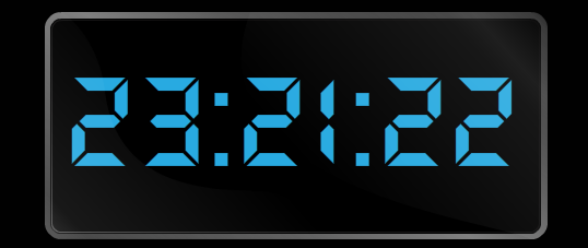 Flash исходник часов