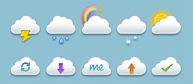 Иконки Облака