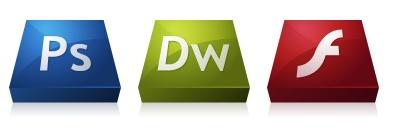Иконки Adobe CS3 3D