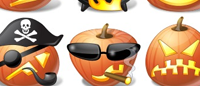 Иконки «Тыквы для Хэллоуина»