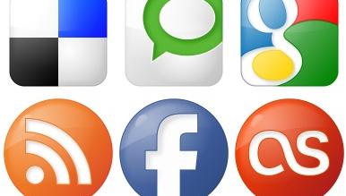 Отличные иконки социальных сетей