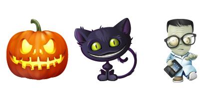 Иконки «Хеллоуин»