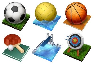 Иконки «Летние Олимпийские виды спорта»
