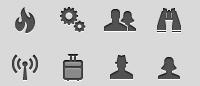 Набор качественных простых иконок для сайта
