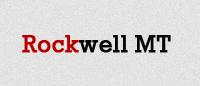 Шрифт «Rockwell MT»