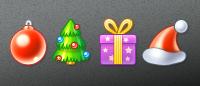Маленькие новогодние иконки 50x50