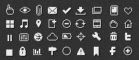 Маленькие пиксельные иконки «Pixicus»