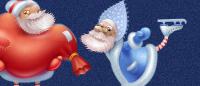 Иконки «Санта Клаусы»